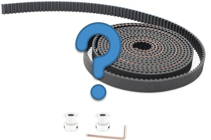 Anet A8 – Den Riemen wechseln auf GT2-Riemen