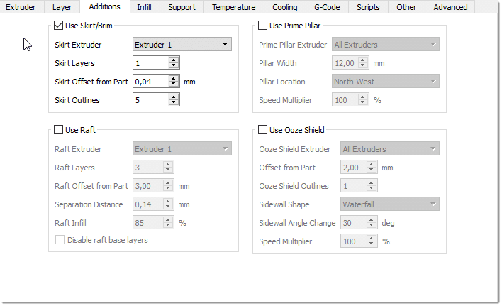 Creality 3D CR-10 - Gute Einstellungen für den Druck mit PLA