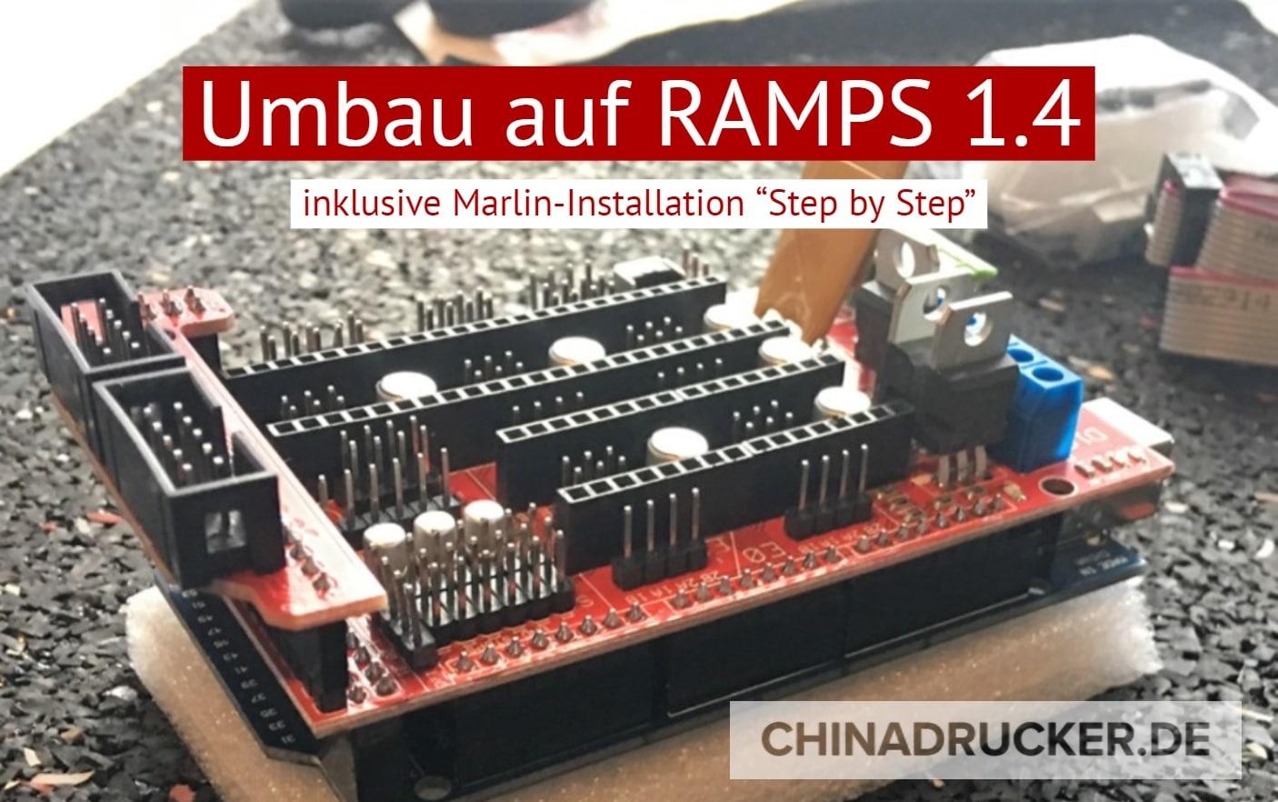 Turorial - 3D-Drucker auf RAMPS 1.4 umbauen oder neu aufbauen on