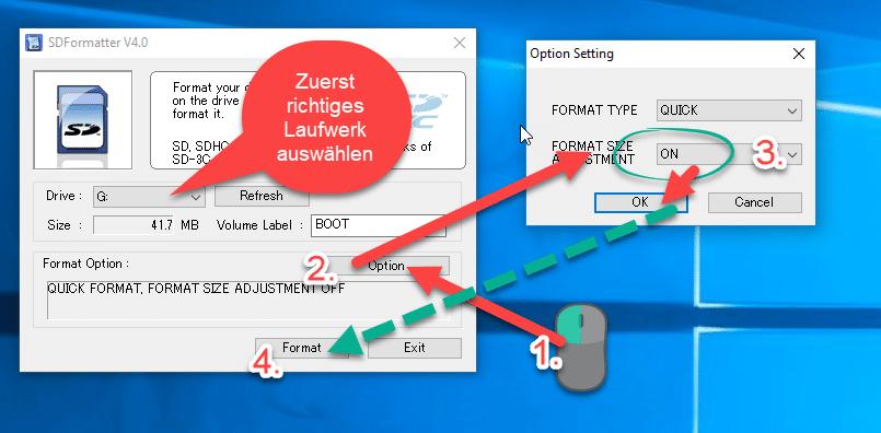 SD-Formatter Tool