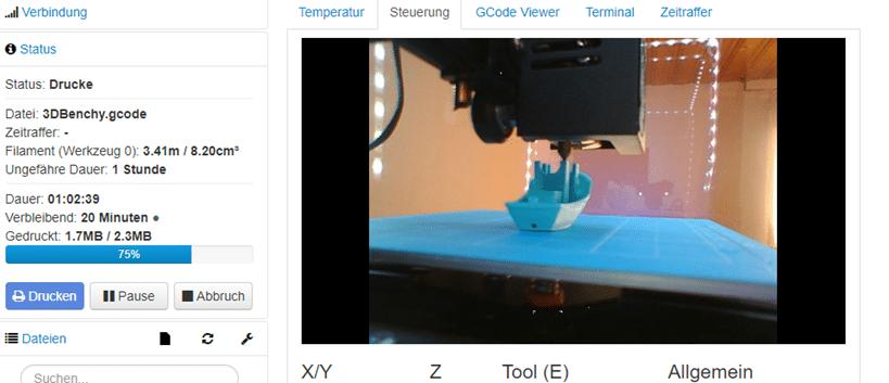 Sehr gute Octoprint Webcam kostet nur 5 Euro