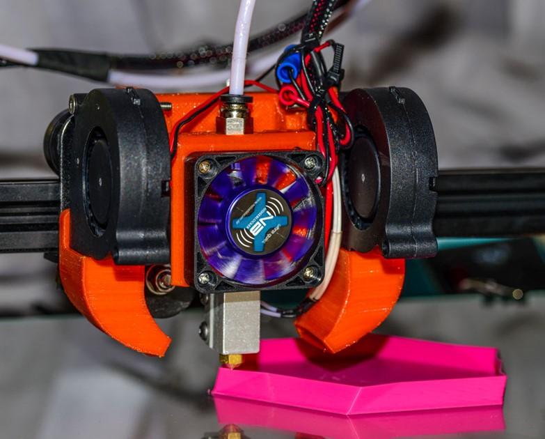 Schneller 3D Druck mit dem E3D Volcano Hotend