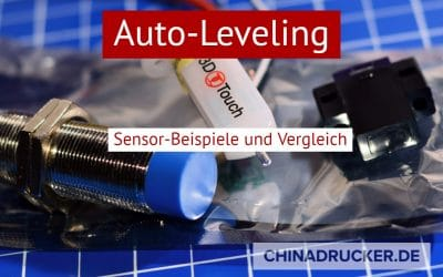 Auto-Leveling am 3D Drucker – Sensor-Beispiele