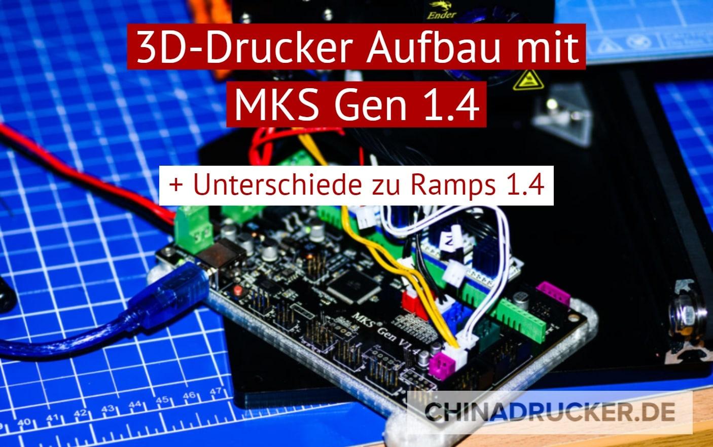 3d Drucker Aufbau Mit Mks Gen 14 Board Ramps