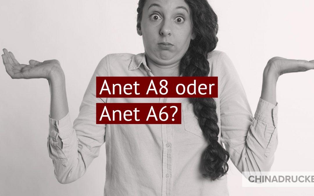 Anet A8 oder A6 – eine Gretchenfrage mit Lösung