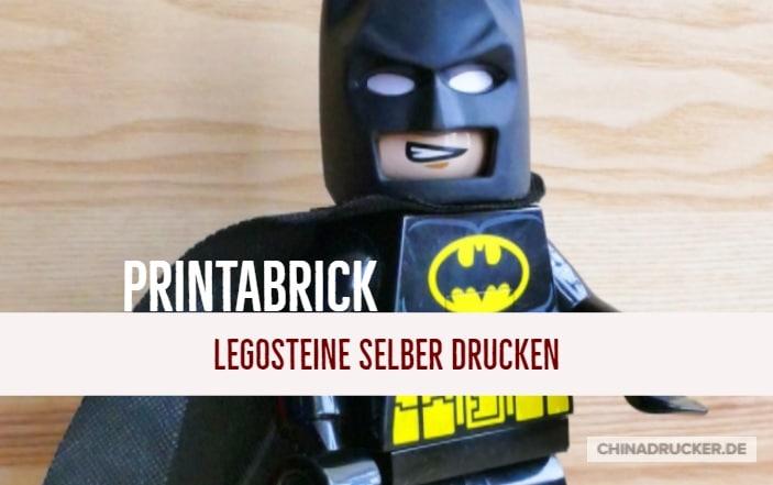 Lego Steine selber drucken