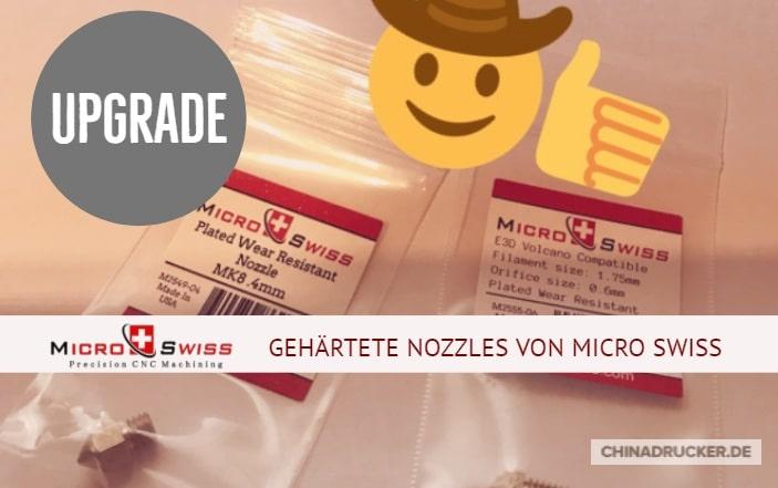 Die Micro Swiss Nozzle – Review und Montage
