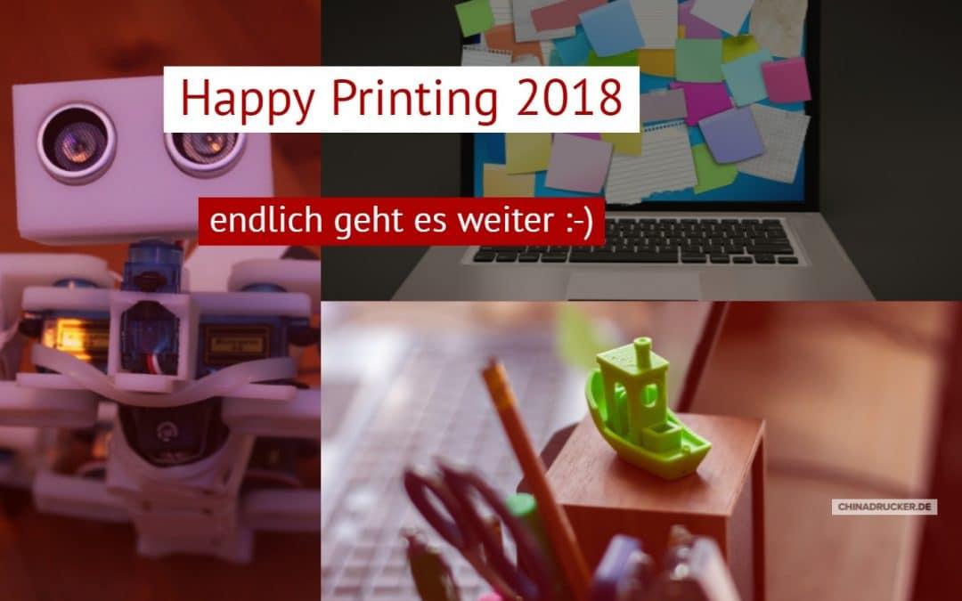 Happy Printing 2018